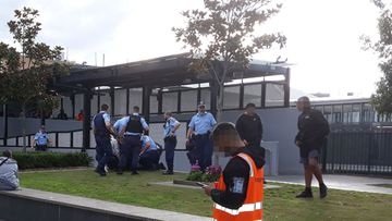 Schoolboys have reportedly been involved in a brawl in Bankstown.