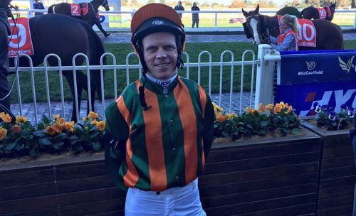 Jockey Anthony Boyd.