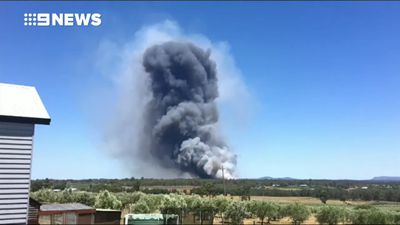 Bushfire breaks out as NSW swelters