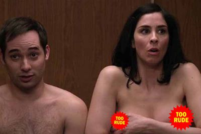 Comedienne Sarah Silverman unleashed a topless scene from her unaired, pilot <i>Susan 313</i> on her JASH YouTube channel after the show was rejected by NBC.