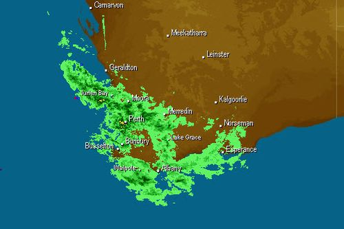 A severe weather warning has been issued for parts of the Midwest-Gascoyne, Perth Metropolitan, South West, and the Lower South West regions. (weatherzone)