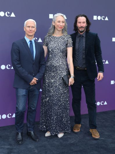 Keanu Reeves, Alexandra Grant, red carpet, event