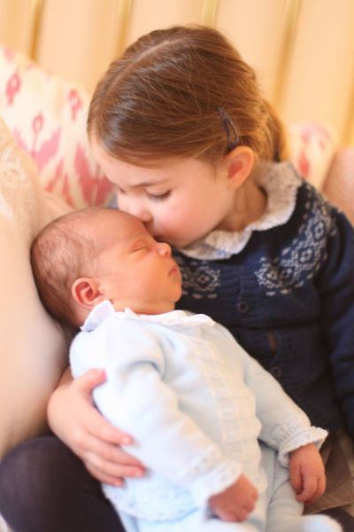 Official photographs of Louis and Charlotte