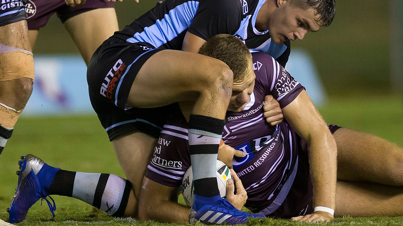 Tom Trbojevic was injured in the trial against Cronulla