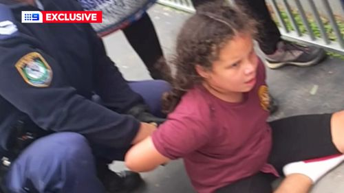 Makayla has been handcuffed by police on multiple occasions.