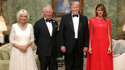 Charles and Camilla dine with the Trumps, June 2019