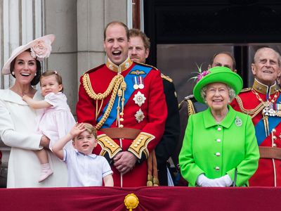 Princess Charlotte's debut and the Queen's 90th, 2016