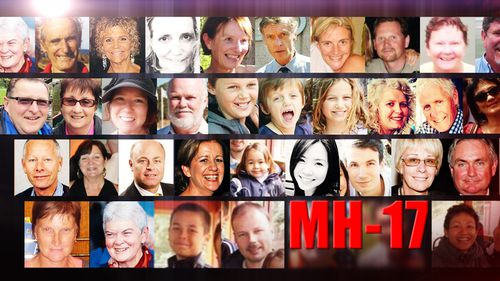 Faces of the victims of MH17.