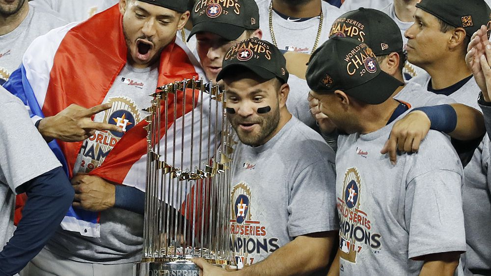 World Series: Houston Astros beat LA Dodgers to win first title