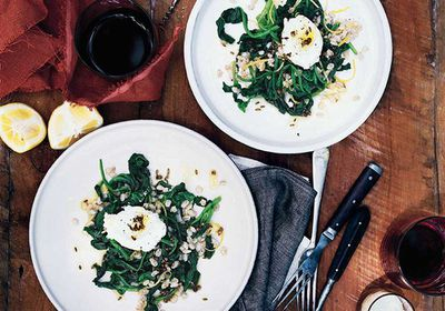 <p>Swap lettuce for spinach</p>