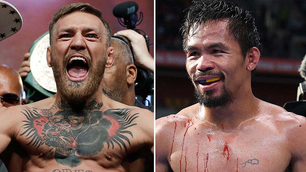 Manny Pacquiao, Conor McGregor in talks for April showdown