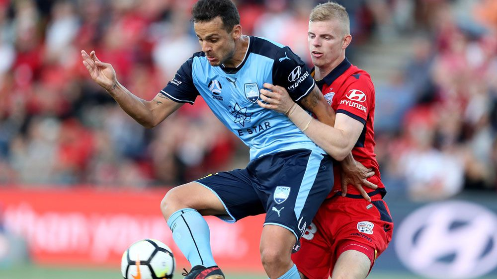 A-League: Adelaide United coach hails youth after holding Sydney FC to a draw