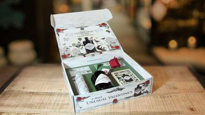 """<p>Hendrick's Gin Unusual Valentine's Woocumber pack - RRP $69<br /> Available to order from <a href=""""https://www.danmurphys.com.au/product/DM_ER_1000005869_HENDVALENTINE/hendrick-s-valentine-s-day-gift-pack"""" target=""""_top"""">Dan Murphy's</a>online</p>"""