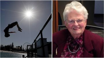 Adelaide great-grandmother Jess Stapledon has lived through both of Adelaide's hottest recorded days.