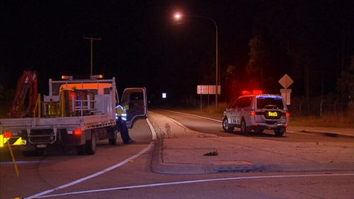 The 43-year-old sergeant died at the scene. (9NEWS)