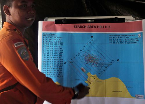 The search area has been narrowed to one and a half nautical square miles.