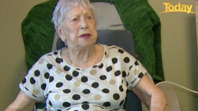 Rapid testing would help protect aged-care residents like Elizabeth Bennetts, while allowing her to see visitors.