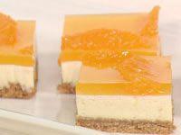 Tangelo Cheesecake Slice