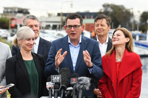 He's also promised to match Labor's plan to abolish parking and launch fees.