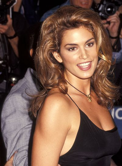 <p>Thick Brows</p> <p>Muse- Cindy Crawford pictured in 1992</p>