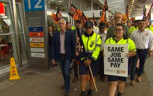 Jetstar strike: Airport workers hold all-day strike, flights axed