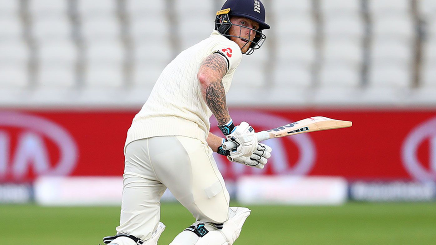Ben Stokes in action for England during the second Test against the West Indies.
