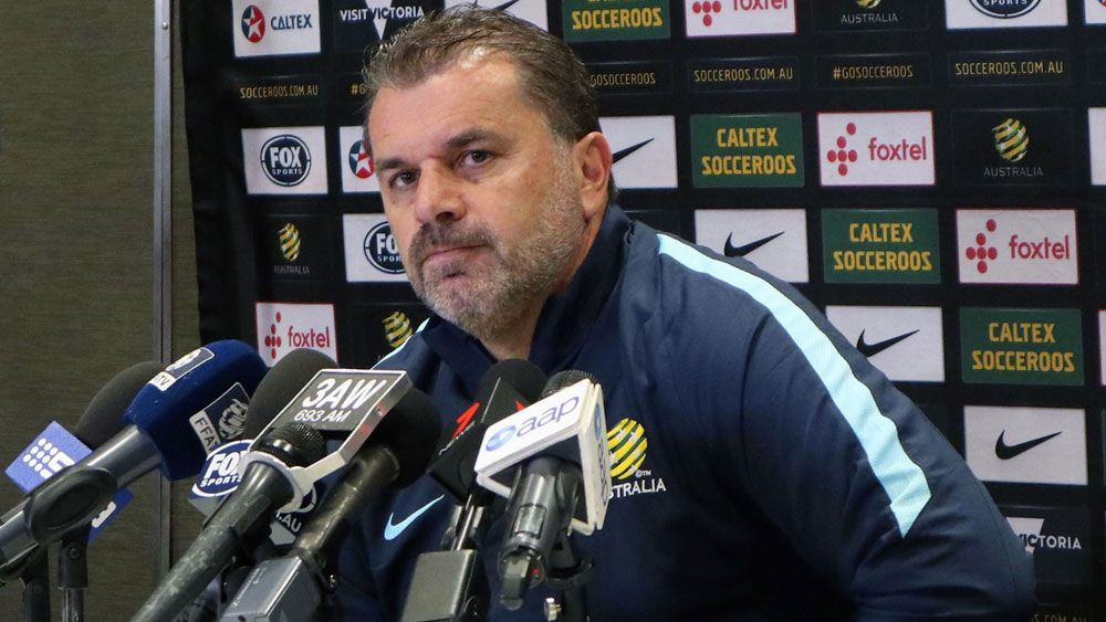 Socceroos coach Ange Postecoglou rings changes for World Cup Qualifiers playoff