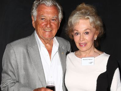 Bob Hawke and Blanche d'Alpuget pictured in Sydney in 2013.