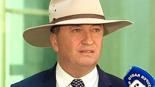 Deputy Prime Minister Barnaby Joyce is on leave for one week.