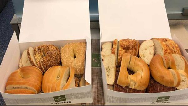 Bagel gate sparks controversy