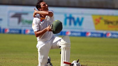 Younis Khan (Pakistan).