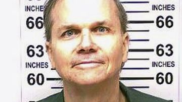 A mugshot taken earlier this year of John Lennon's killer Mark Chapman.