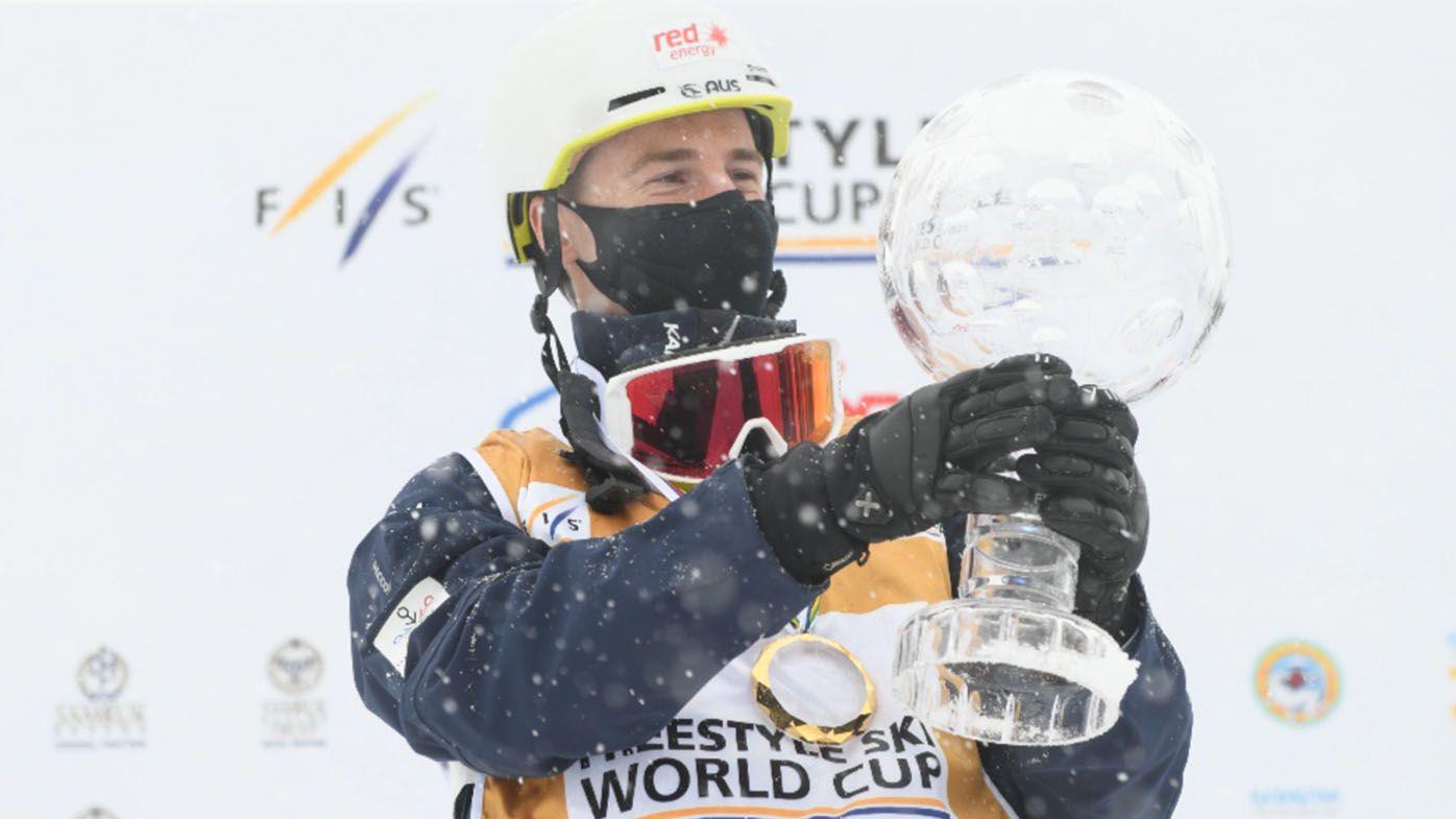 Australia's Matt Graham wins moguls skiing World Cup title, as final event cancelled