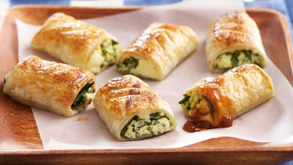 Feta and spinach bites