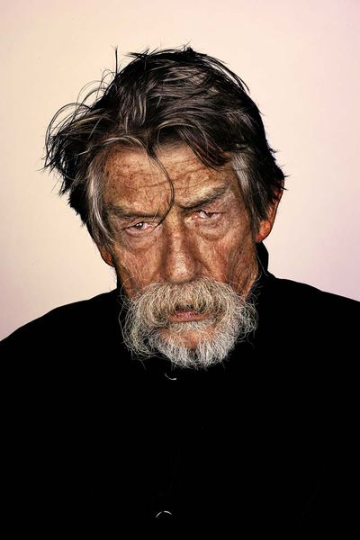 <p>John Hurt by Mr Elbank</p>