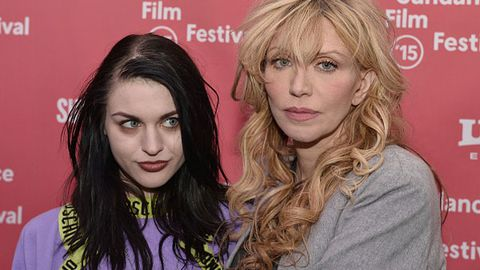 Courtney Love and Frances Bean Cobain