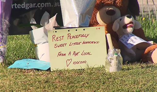 A shocked community in Victoria have left tributes for the boy. (9NEWS)
