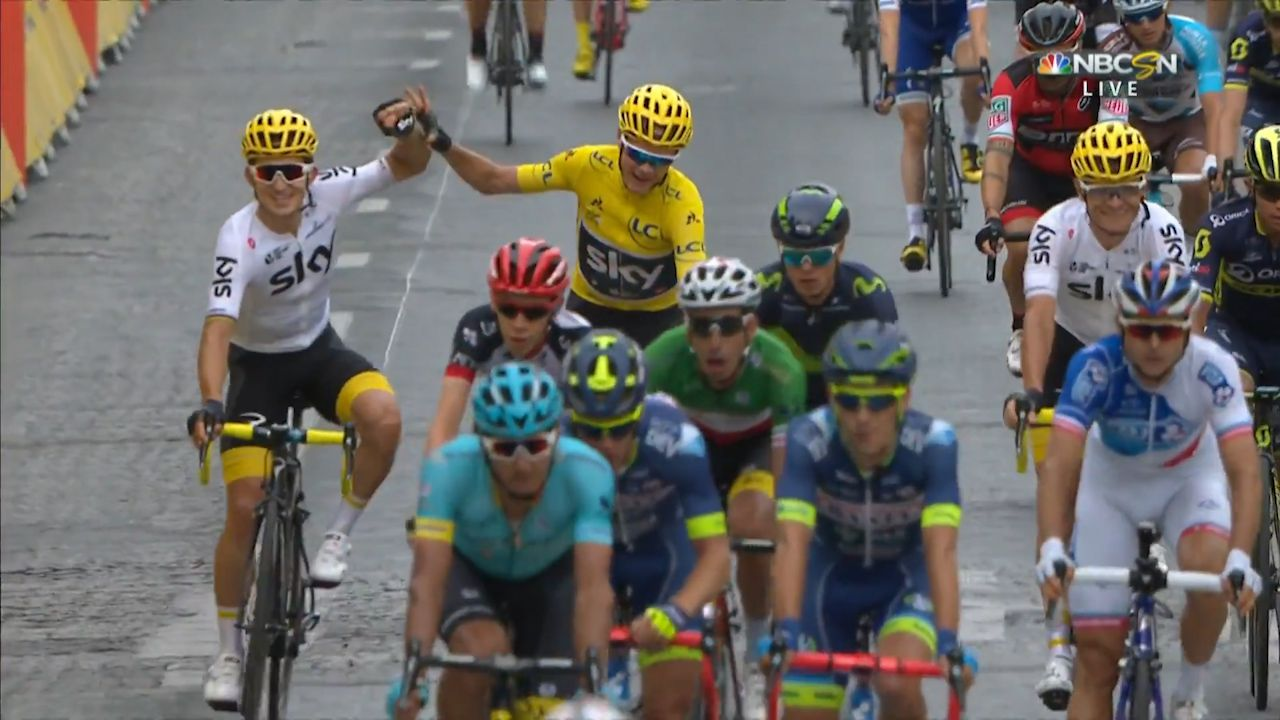 Froome wins fourth Tour de France