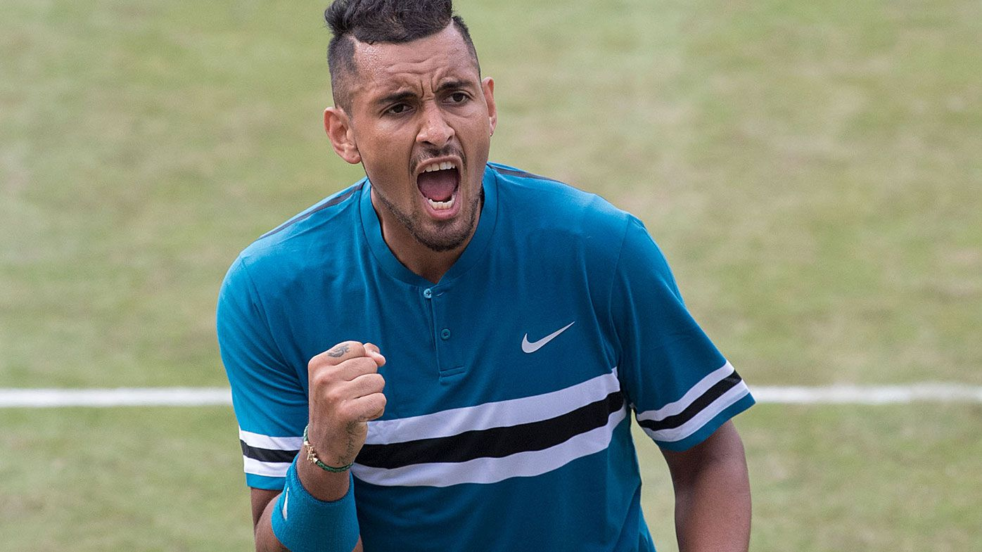 Nick Kyrgios sets up semi-final against Roger Federer in Stuttgart
