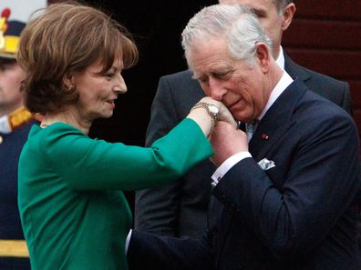 Prince Charles and Crown Princess Margareta