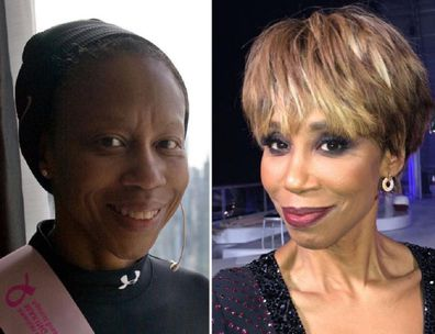 Trisha Goddard cancer before and after