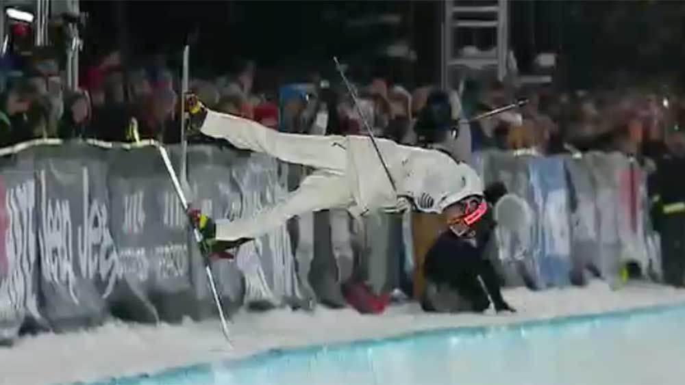 Skiing: Frenchman survives heavy crash at X Games