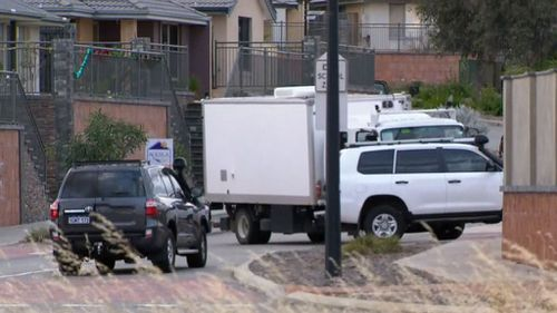 Heavily armed tactical police in Perth are negotiating with a man in an Ellenbrook home who is threatening to detonate explosive devices.
