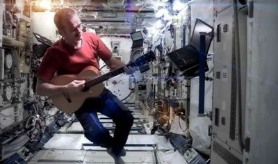 ISS guitar