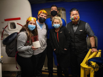 Southwest Airlines surprise newlyweds