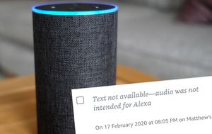 Amazon's Alexa saves private conversations without being summoned
