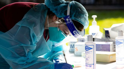 Coronavirus testing Rushcutters Bay