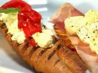 Trio Of Bruschetta With Fresh Cheese