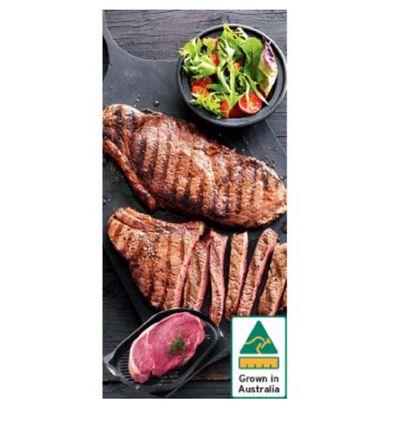 Aussie Beef Rump Steak is on sale at IGA this week.