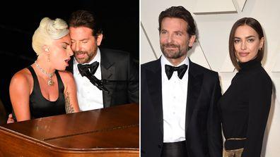 Lady Gaga, Bradley Cooper and Irina Shayk
